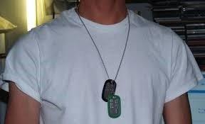 Military Dog Tags Custom Made !!!