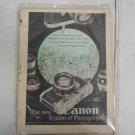 Canon Model V 5 Camera Photography Instruction Manual 1957 Edition