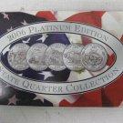 New 2006 PLATINUM EDITION State Quarter Collection, COA