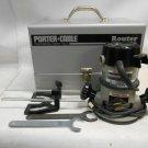 Porter Cable 6902 Heavy Duty Motor w/ 1001 Base w/ Extras in Metal Storage Case