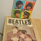 2 Vintage 1960's THE BEATLES Magazines, 16 Scoop!, Beatles Round The World