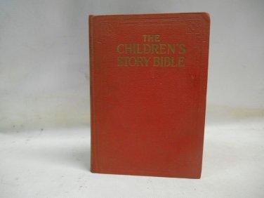 Children's Story Bible Harold Begbie Undated Illustrated Hardcover Grolier Socie