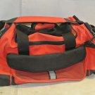 Gently Used Red, Black Heavy DUFFEL BAG, Sports, Gym, Beach
