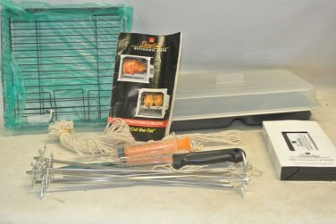 Ronco SHOWTIME Rotissiere & BBQ Delue Accessory Package, As Seen On TV