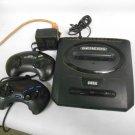 Sega Genesis Model 2 MK-1631 Video Game Console Bundle 2 Controllers, AC Adapter