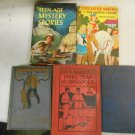 Lot 5 Vintage Fiction HC Books Boy Scouts on Trail Teen-Age Mystery Stories w DJ