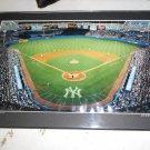 Signed Serge Lurie Photo Print of Yankee Stadium, Framed