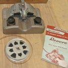 Vintage REVERE CURVAMATIC 8mm, 16mm  Film Splicer, Original Box, Instructions