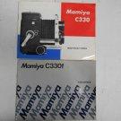 Lot 2 Vintage Mamiya Camera Instruction Manual Guides C330 C330f Japan