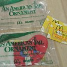 NIP Retro 1986 McDonalds, Sears Christmas Stocking Toy, FIEVAL, An American Tail