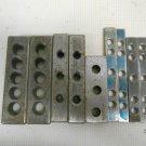 Lot 9 Vintage Machinist Toolmaker Jig Boring Block Bar Bit Workholders J.J.B.