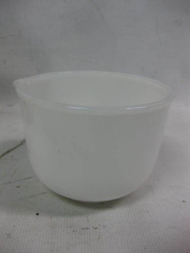 Vintage GLASBAKE Sunbeam Mixmaster Mixing Bowl, White Milk Glass, 20CJ