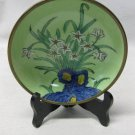 Vintage Japanese Porcelain Ware Japanese, Hong Kong, Painted, & Brass Plate