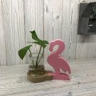 Hydroponic Home Décor - Pink Flamingo Pot