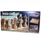 "Zoocen HQ Wood Pieces Chess Set - 30cm (12"")"
