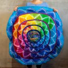Round Karma Mandala Meditation Mat