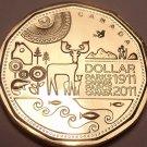 Gem Uncirculated Canada 2011 Loonie Dollar~Canadian Parks~Free Shipping~