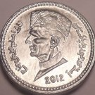 Gem Uncirculated Pakistan 2012 One Rupee~We Have Middle Eastern Coins~Free Ship~