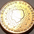 Gem Uncirculated Netherlands 2000 1 Euro Cent~Free Shipping~See Our Unc Coins~