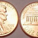 1997-D GEM UNCIRCULATED LINCOLN CENT~NICE~FREE SHIPPING