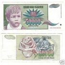 YUGOSLAVIA 1992 50,000 DINARA~FREE SHIP~GREAT PRICE~