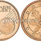 GEM UNC GERMANY 2002-F 1 EURO CENTS~FREE SHIP INCLUDED~