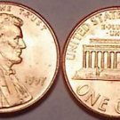 1997-P GEM UNCIRCULATED LINCOLN CENT VERY NICE FREE SHI