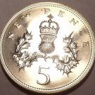 Scrace Great Britain 1979 5 Pence~Only 81k  Minted~Proofs Are The Best Coins~F/S