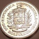 Large Gem Unc Venezuela 1990 2 Bolivares~We Have Unc South American Coins~Fr/Shi