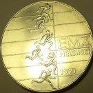 Massive Unc Silver Finland 1971 10 Markkaa~European Athletic Championships~Fr/Sh