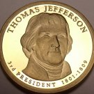 United States Proof 2007-S Thomas Jefferson Presidential Dollar~Free Shipping