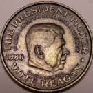 THE PRESIDENT PICKER~3 SIDED COIN~REAGAN~CARTER~SCARCE~