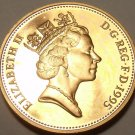 CAMEO PROOF GREAT BRITAIN 1995 PENNY~EXCELLENT~FREE SHIPPING~WE HAVE PROOF COINS