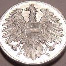 Gem Unc Austria 1962 2 Groschen~Imperial Eagle~Free Shipping