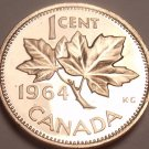 Canada Proof 1964 Cent~Roal Canadian Mint~Super Price~Free Shipping