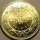Large Gem Unc Honduras 2007 10 Centavos~Solid Brass Coin~Free Shipping