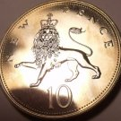 Large Proof Great Britain 1971 10 New Pence~Proofs Are The Best Coins~Free Ship