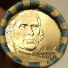 GEM UNC ROLL 2006-P JEFFERSON NICKELS~FREE SHIP~LIKE THE DAY THEY WERE MINTED~