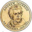 2008-P ANDREW JACKSON UNC PRESIDENTIAL DOLLAR~FREE SHIP