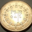 GEM BRILLIANT UNCIRCULATED PORTUGAL 2012 FIVE EURO CENTS~EXCELLENT~FREE SHIPPING