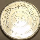 Gem Unc Egypt 2008 25 Piastres~Excellent~Free Shipping
