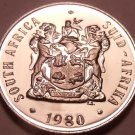 Rare Proof South Africa 1980 10 Cents~Only 5,000 Ever Minted~Aloe Plant~Free Shi