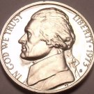 1973-S PROOF JEFFERSON NICKEL~SEE ALL R JEFFERSONS~FR/S