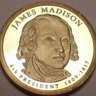 United States 2007-S James Madison Presidential Proof Dollar~Free Shipping