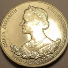 Massive Guernsey 1980 25 Pence~The Queens 80th Birthday Celebration~Free Ship