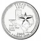 2004-D TEXAS BRILLIANT GEM UNC STATE QUARTER~FREE SHIPPING~WE HAVE STATE QUARTER