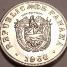 Rare Proof Panama 1966 5 Centesimos~See All Our Panama Proofs~Free Shipping