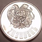Gem Unc Armenia 1994 1 Dram~1st Year Of Any Coinage~Free Shipping~