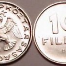 UNC HUNGARY 1978 10 FILLER~DOVE COIN~FREE SHIPPING~