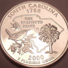 Gem Cameo Proof 2000-S South Carolina State Quarter~Free Shipping Included~